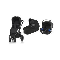 britax & romer wózek britax smile 2 + gondola + fotelik baby-safe i-size