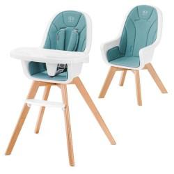 kinderkraft tixi krzesełko do karmienia 2w1 turq