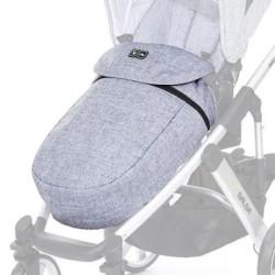 abc design osłonka na nóżki do wózków graphite grey