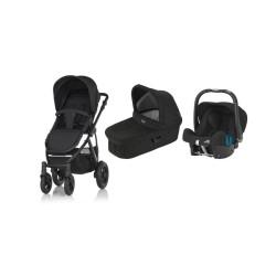 britax & romer wózek smile 2 + gondola + fotelik baby-safe plus shr ii