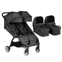 baby jogger wózek city tour 2 double 2w1