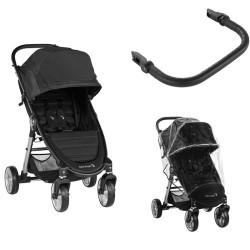 baby jogger wózek city mini 2 4-kołowy + folia + pałąk