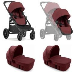 baby jogger city select lux wózek bliźniaczy 2w1 + folia gratis