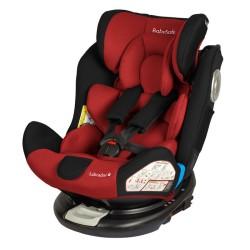 babysafe labrador fotelik samochodowy red black