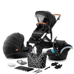 kinderkraft prime wózek 3w1 newblack