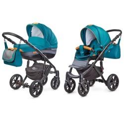 camini frontera wózek 2w1 dark turquoise