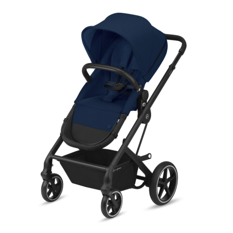cybex balios s 2in1 wózek 2w1 navy blue