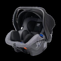 axkid modukid infant fotelik samochodowy grey