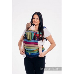 lennylamb nosidełko ergonomiczne lennygo karuzela barw rozmiar baby