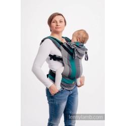 lennylamb nosidełko ergonomiczne lennygo smoky mięta rozmiar baby