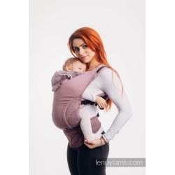 lennylamb nosidełko ergonomiczne lennygo mała jodełka ombre róż rozmiar baby