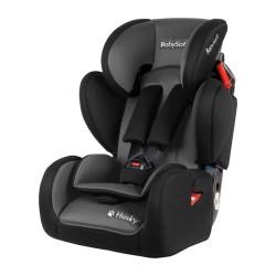 babysafe husky 2020 fotelik samochodowy grey black