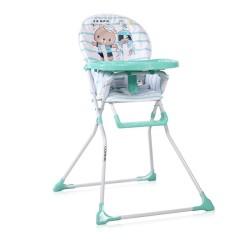 lorelli cookie krzesełko do karmienia aquamarine