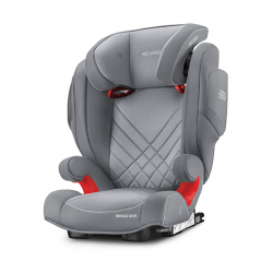 recaro monza nova 2 seatfix fotelik samochodowy aluminiumgrey
