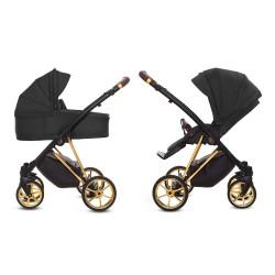 babyactive musse wózek 2w1 ultra black