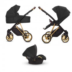 babyactive musse wózek 3w1 ultra black