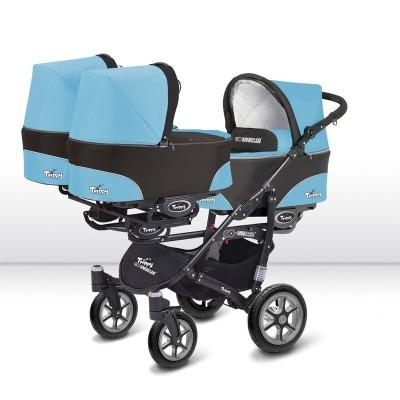 babyactive trippy wózek dla trójki dzieci
