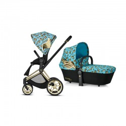 cybex priam 2.0 jeremy scott cherubs + gondola