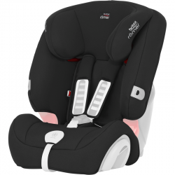 BRITAX & ROMER TAPICERKA ZAMIENNA DO EVOLVA 1-2-3 PLUS COSMOS BLACK