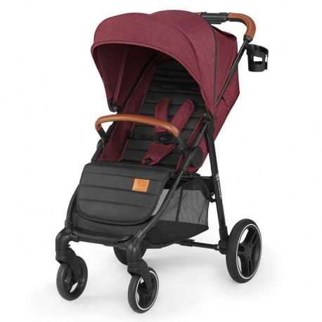 kinderkraft grande 2020 wózek spacerowy burgundy