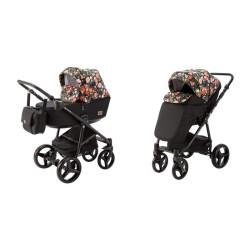 adamex reggio flowers collection wózek 2w1