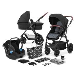kinderkraft xmoov wózek 3w1 black