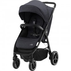 britax & romer b-agile r wózek spacerowy black shadow black