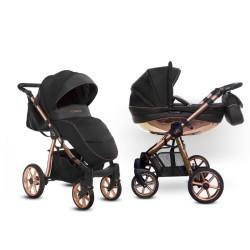 babyactive mommy glossy wózek 2w1 rosegold