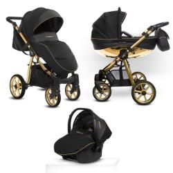 babyactive mommy glossy wózek 3w1 glossygold