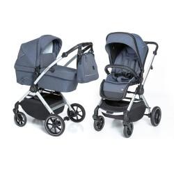baby design smooth wózek 2w1 03 blue