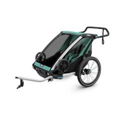 thule chariot lite 2 przyczepka rowerowa blue grass