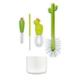boon zestaw do czyszczenia butelek kaktusy