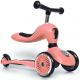 scoot & ride highwaykick1 hulajnoga / jeździk 2w1 peach