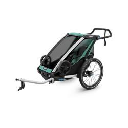 thule chariot lite 1 przyczepka rowerowa morski-czarny