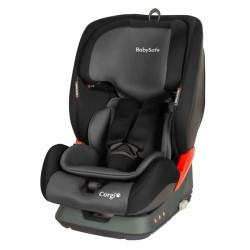 babysafe corgi fotelik samochodowy grey black