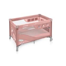 baby design dream regular łóżeczko turystyczne pink