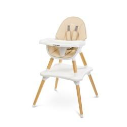 caretero tuva krzesełko do karmienia beige