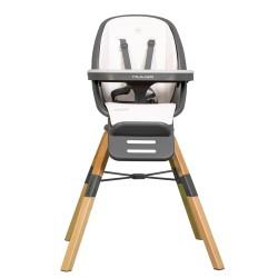 muuvo choc wielofunkcyjne krzesełko do karmienia white
