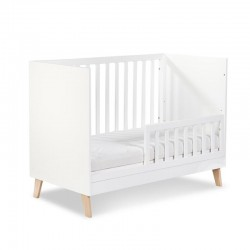 klupś noah łóżeczko dziecięce z barierką ochronną