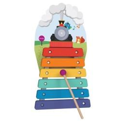oribel zabawka cymbałki magiczny pociąg vertiplay