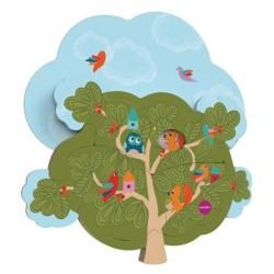 oribel zabawka domek wiewiórki vertiplay