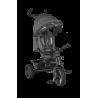 lionelo haari rowerek 2w1 stone grey