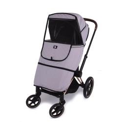 cottonmoose osłona / pokrowiec na wózek szary