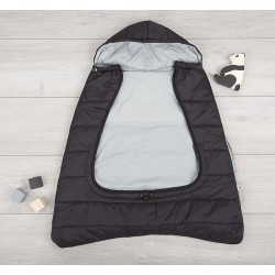 cuddleco comfi-cape śpiworek 2w1 czarno-szary
