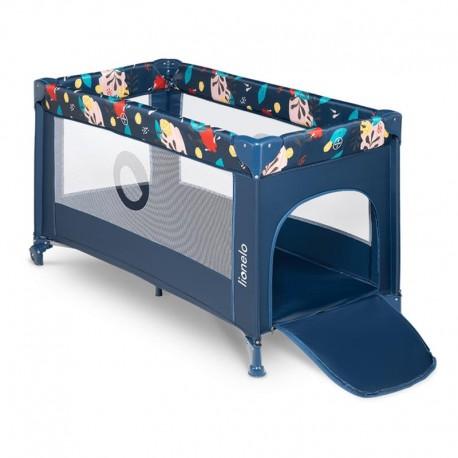 lionelo stefi łóżeczko turystyczne blue navy