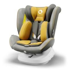 lionelo bastiaan one fotelik samochodowy yellow mustard