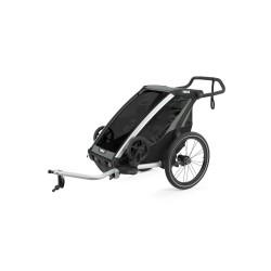 thule chariot lite 1 przyczepka rowerowa agave black