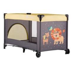 petite&mars koot łóżeczko turystyczne lion yellow