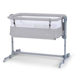 kinderkraft neste air łóżeczko 2w1 grey