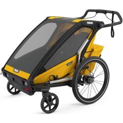 thule chariot sport 2 przyczepka rowerowa spectra yellow